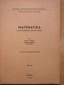 Nagy János - Matematika [antikvár]