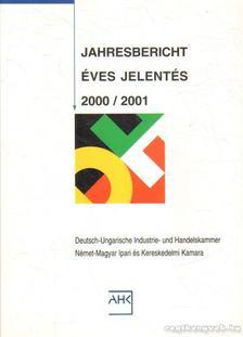 Jahresbericht/Éves jelentés 2000/2001 [antikvár]
