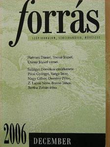 Pécsi Györgyi - Forrás 2006. december [antikvár]