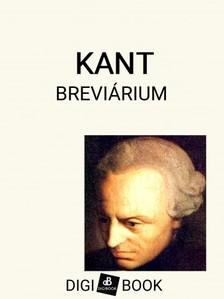 Immanuel Kant - Kant-breviárium [eKönyv: epub, mobi]