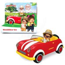 Monchhichi autó szett