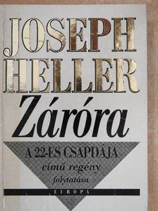 Joseph Heller - Záróra [antikvár]