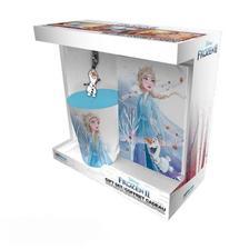 """ABYPCK195 - Disney Jégvarázs 2. ajándékcsomag: Bögre+kulcstartó+füzet """"Elza"""""""