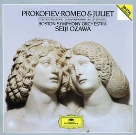 PROKOFIEV - ROMEO & JULIET CD OZAWA