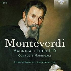 MONTEVERDI. - MADRIGALI LIBRI I-IX - COMPLETE MADRIGALS 12CD KRIJN KOETSVELD