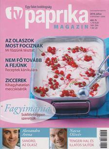 ZSIGMOND GÁBOR - TV paprika magazin 2010. július [antikvár]