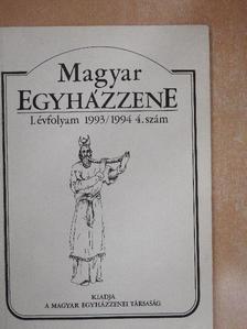 Berki Feriz - Magyar Egyházzene 1993/1994 4. [antikvár]