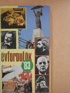 Gárdos Miklós - Évfordulók '83 [antikvár]