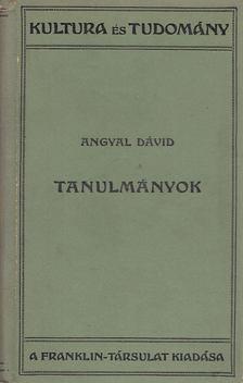 Angyal Dávid - Tanulmányok [antikvár]