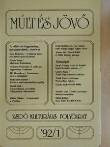 Rainer Maria Rilke - Múlt és Jövő 1992/1. [antikvár]