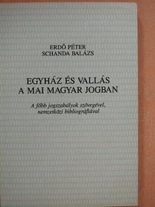 Erdő Péter - Egyház és vallás a mai magyar jogban [antikvár]
