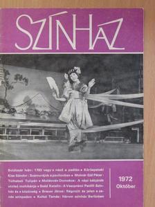 Antal Gábor - Színház 1972. október [antikvár]