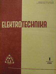 B. Milanov - Elektrotechnika 1988. január-december [antikvár]