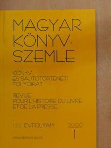 Fehér Katalin - Magyar Könyvszemle 2006/1.  [antikvár]