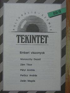 Csókás László - Tekintet 1989/9 [antikvár]