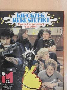 Berki Endre - Ifjúsági Magazin 1982. január-december [antikvár]