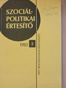 Dr. Bobvos Pálné - Szociálpolitikai értesítő 1983/2. [antikvár]