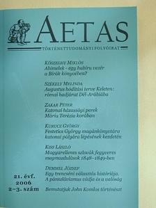 B. Szabó János - Aetas 2006/2-3. [antikvár]