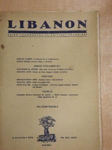 Kardos Albert - Libanon 1938. augusztus-szeptember [antikvár]
