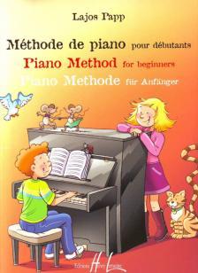Papp Lajos - MÉTHODE DE PIANO POUR DÉBUTANTS