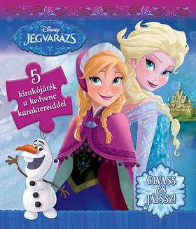.- - Disney - Szivacsos kirakókönyv - Jégvarázs
