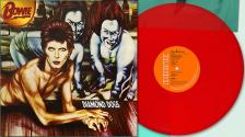 David Bowie - DIAMOND DOGS LP DAVID BOWIE - LIMITED EDITION RED VINYL