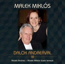MALEK MIKLÓS - Dalok Andreával - CD