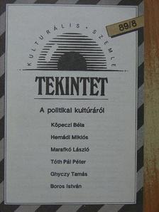 Balázs Géza - Tekintet 1989/8 [antikvár]