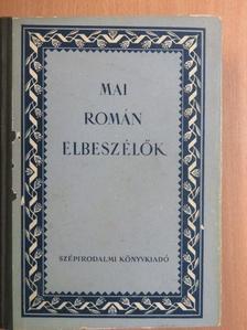 Alexandru Jar - Mai román elbeszélők [antikvár]