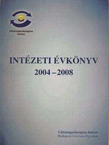 András Krisztina - Intézeti évkönyv 2004-2008 [antikvár]