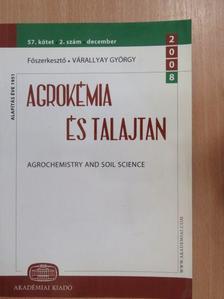 Ács Ferenc - Agrokémia és Talajtan 2008. december [antikvár]