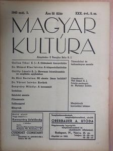 Dr. Biró Bertalan - Magyar Kultúra 1943. május 5. [antikvár]