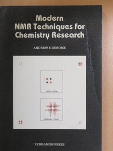 Andrew E. Derome - Modern NMR Techniques for Chemistry Research [antikvár]