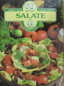 Hemző Károly - 99 Salate mit 33 Farbfotos [antikvár]