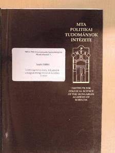 Szabó Ildikó - Közösségszerveződési folyamatok a magyarországi románok körében I. [antikvár]