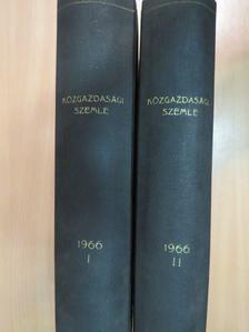 Ádám György - Közgazdasági Szemle 1966. január-december I-II. [antikvár]