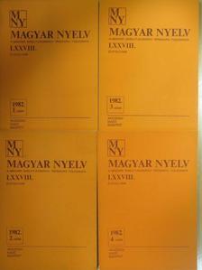 Antal László - Magyar Nyelv 1982/1-4. [antikvár]