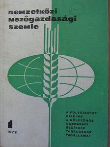 A. Angelov - Nemzetközi Mezőgazdasági Szemle 1972/1-6. [antikvár]