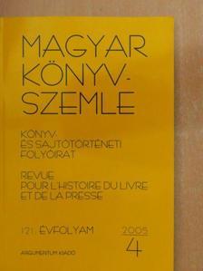 Bánfi Szilvia - Magyar Könyvszemle 2005/4. [antikvár]