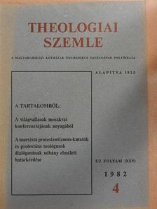 G. Arbatov - Theologiai Szemle 1982/4. [antikvár]