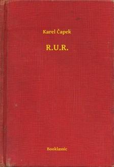 Karel Eapek - R.U.R. [eKönyv: epub, mobi]
