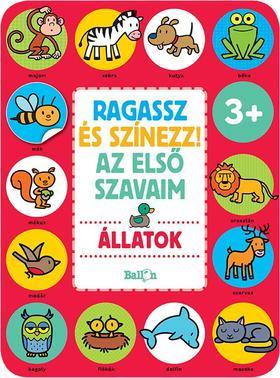 .- - Ragassz és színezz! Az első szavaim - Állatok