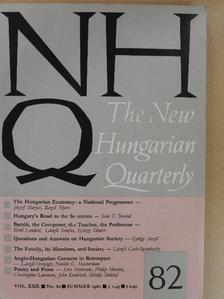 Cseh-Szombathy László - The New Hungarian Quarterly Summer 1981. [antikvár]