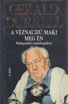 Gerald Durrell - A véznaujjú maki meg én [antikvár]