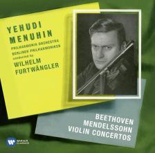 BEETHOVEN, MENDELSSOHN - VIOLIN CONCERTOS CD FURTWANGLER