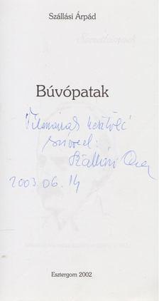 Szállási Árpád - Búvópatak (dedikált) [antikvár]