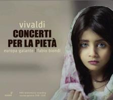 Vivaldi - CONCERTI PER LA PIETÁ CD FABIO BIONDI