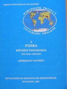 Dr. Kopcsa József - A fizika képzési programja [antikvár]