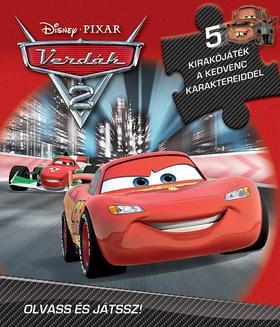 Disney - Szivacsos kirakókönyv - Verdák 2.
