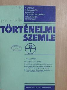 A. I. Puskas - Történelmi Szemle 1979/1-4. [antikvár]